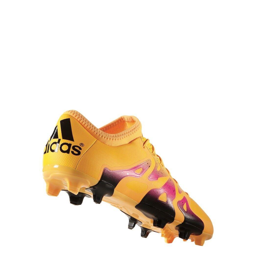 Adidas X 15.2 FG AG AG AG Synthetik Fußballschuhe Gold   schwarz   Rosa 046498
