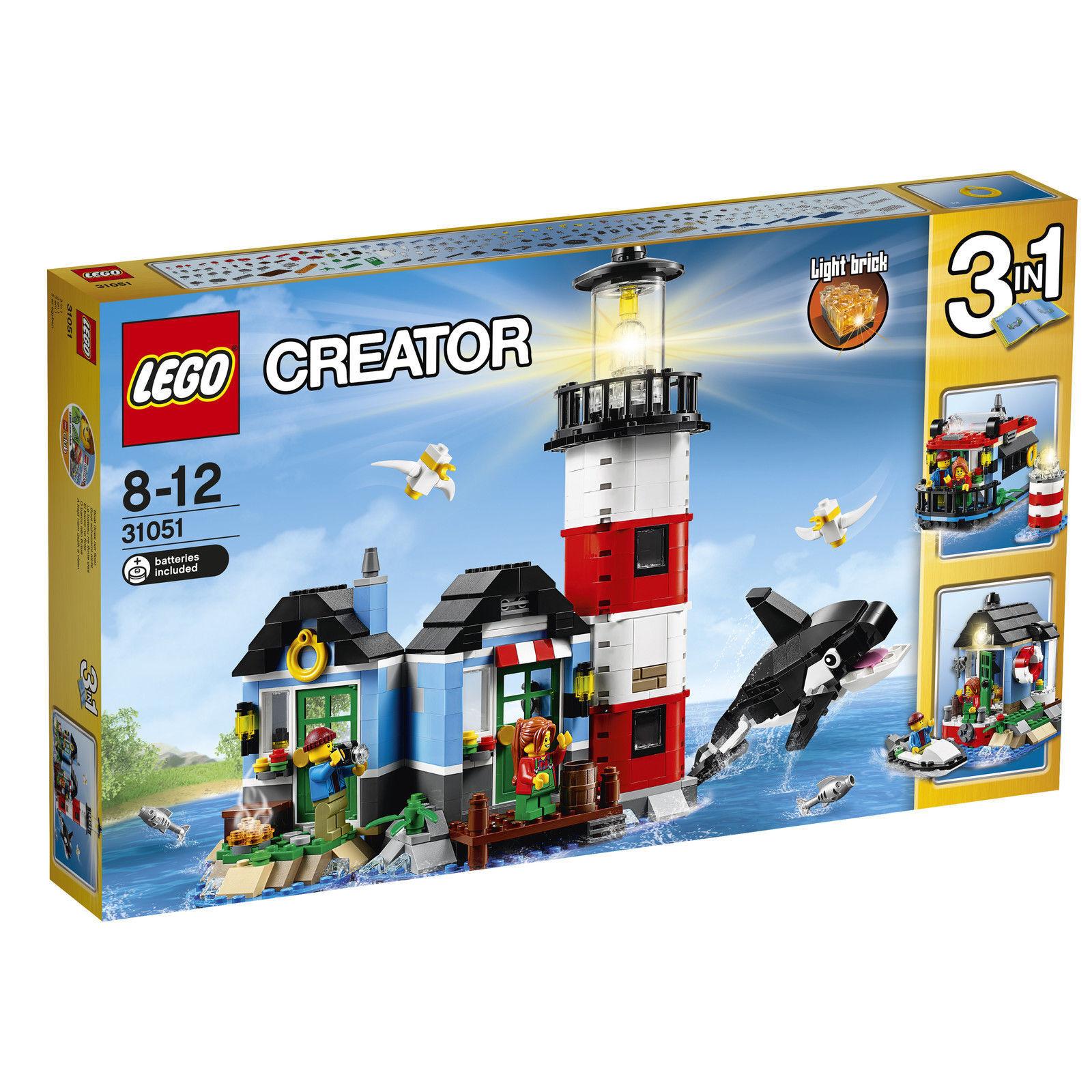LEGO Creator Leuchtturm-Insel (31051) Neu OVP