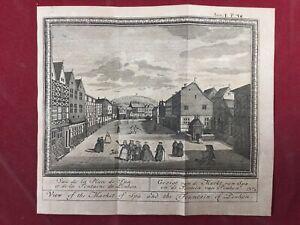 Spa-1784-Belgique-Marche-de-Spa-Fontaine-du-Pouhon-Rare-Gravure-Ancienne