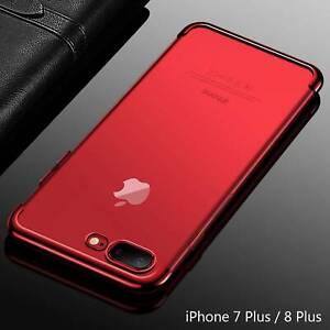 Housse-Etui-Coque-Bumper-Case-Cover-Apple-iPhone-7-Plus-8-Plus-couleur-Rouge