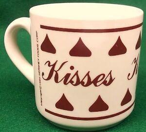 Hersheys-Kisses-Coffee-Mug-10-oz-Tea-Hot-Chocolate-Cocoa-1980-Vintage-Valentines
