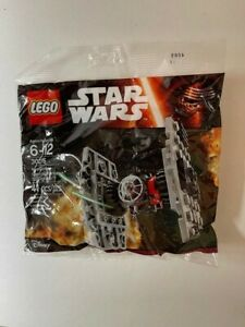 New unopened Lego 30276 STAR WARS First Order Special Forces TIE Fighter polybag