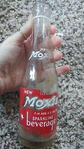 Moxie Soda Green Bottle 7 oz