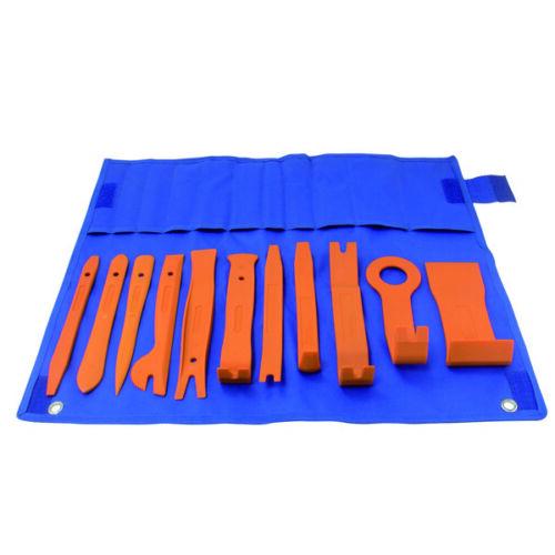 Astro Pneumatic 4524 11 Piece Auto Fastener /& Molding Removal Tool Set