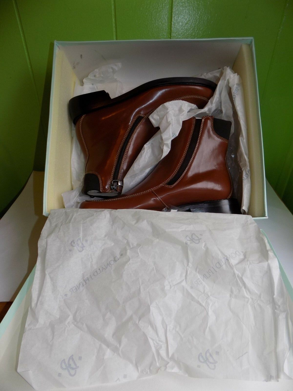 DONALD J.PLINER Womens Tan Baby Calf Ankle Boots Boots Boots Azaria Size 7 M 590b49