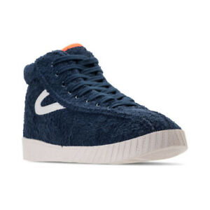 Details about TRETORN x ANDRE 3000 NYLITE HI XAB2 NAVY BLUE TERRY SNEAKERS WOMENS SIZE 7.5