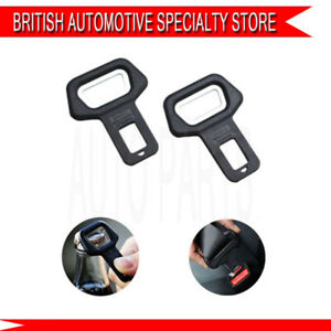 FORD TRANSIT 2010 />/> x2 CAR SEAT BELT BUCKLE CLIP STOP BUZZER