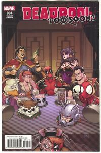 Deadpool-Too-Soon-4-Marvel-2017-NM-1-25-Will-Robson-Variant-Punisher-Spider-Ham