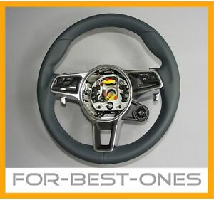 neu porsche 718 911 991 971 gt3rs turbo leder lenkrad. Black Bedroom Furniture Sets. Home Design Ideas