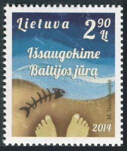 Lithuania 2014 1016 Salvad The Sea Baltic/Feet Along to