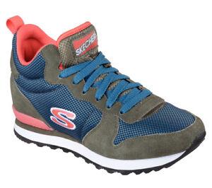 Details zu NEU SKECHERS Retro Damen Sneakers Turnschuh Memory Foam OG 85 SUPER PHRESH Multi