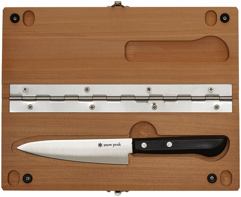 New Snow Peak Manaita Set M CS207 Cutting Board knife Cookware Camping Ware