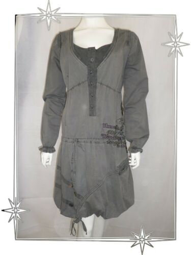 Taglia 42 E 97v2890 Grey Dress Antiguo Toque Desigual Ball Fancy zfzqnBw8r