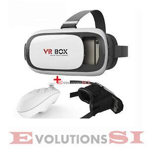 Gafas 3d Realidad Virtual Vr Box Mando Juegos Envio 24 48h Iphone