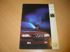 CATALOGUE Alfa Romeo 33 S 16V Permanent 4 de 1992