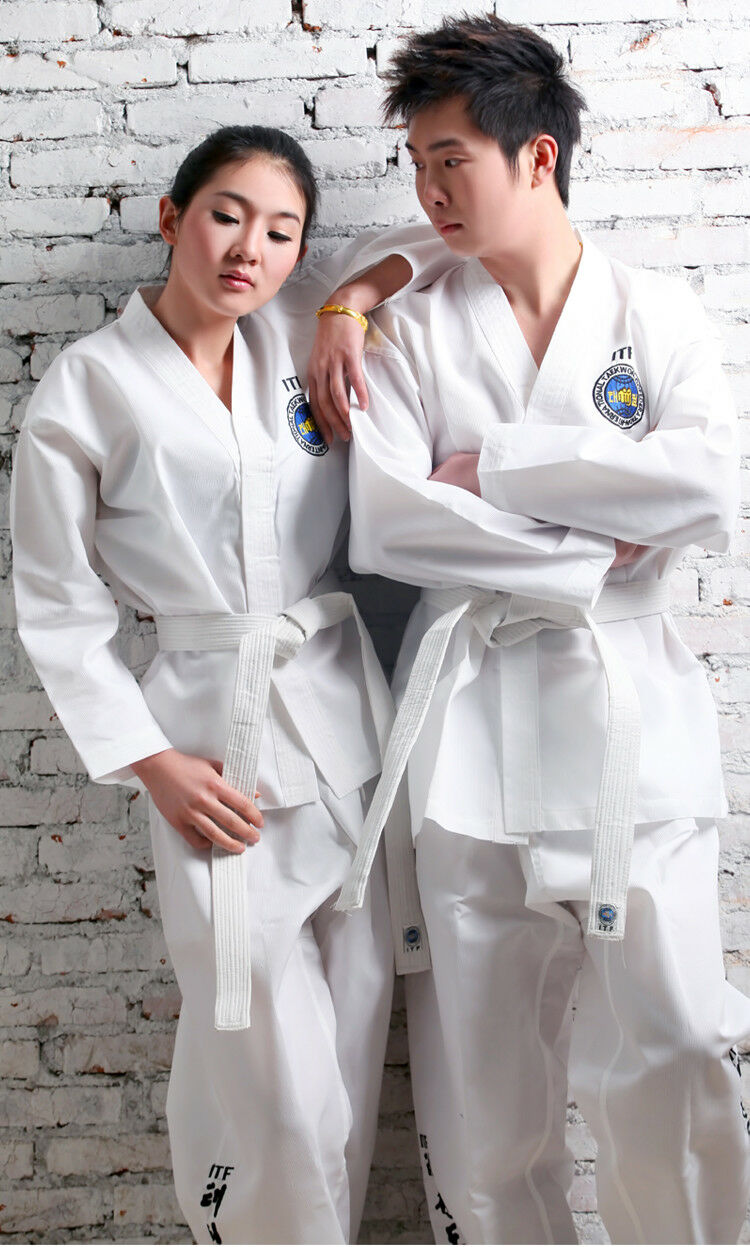 Sportwear Taekwondo White Karate Costume Teenage Tae Kwon Do Uniform