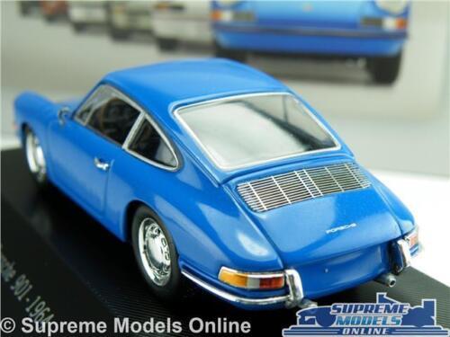 PORSCHE 901 modello auto 1964 1:43 Scala IXO ATLAS Blu Sport Coupe K8