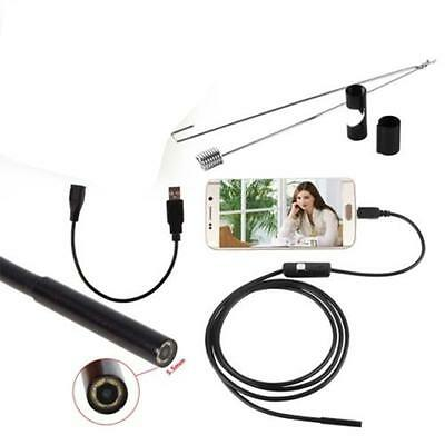 1.5 M 6LED Android Endoscope Waterproof Inspection Camera Micro USB Video Cam Gy