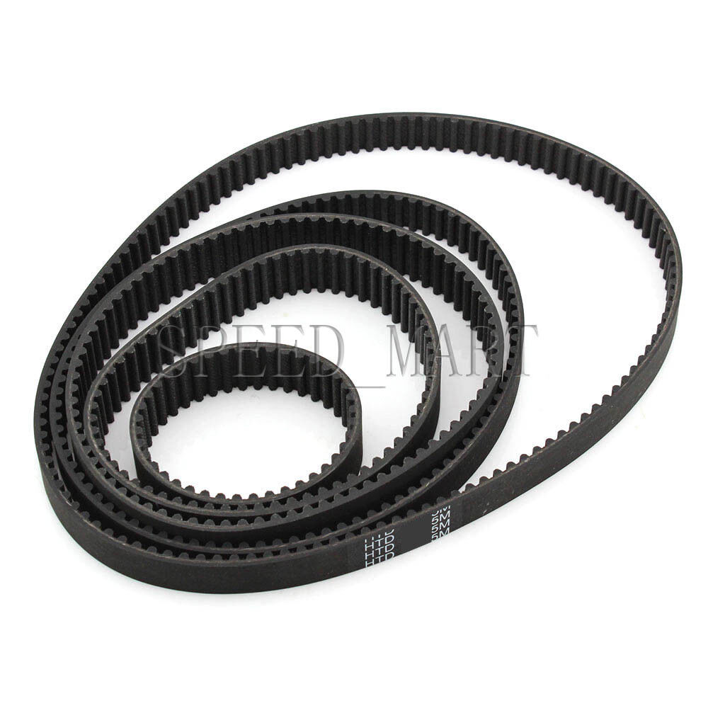 HTD5M Timing Belt 5M555 111 Teeth Cogged Rubber Geared Closed Loop 15mm Wide