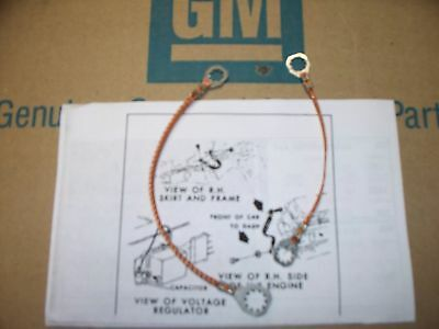 ground strap set 68 69 70 Pontiac GTO judge 400 350 455