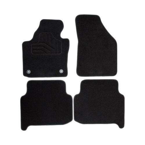 Auto Textil Fußmatten fü Norauto Passform Autoteppich im 4-teiligen Komplettset