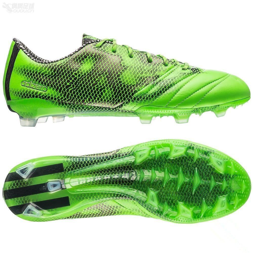 Adidas F50 adiZero FG Firm Ground Soccer Football Boots B26734 Mens  size 6.5 uk