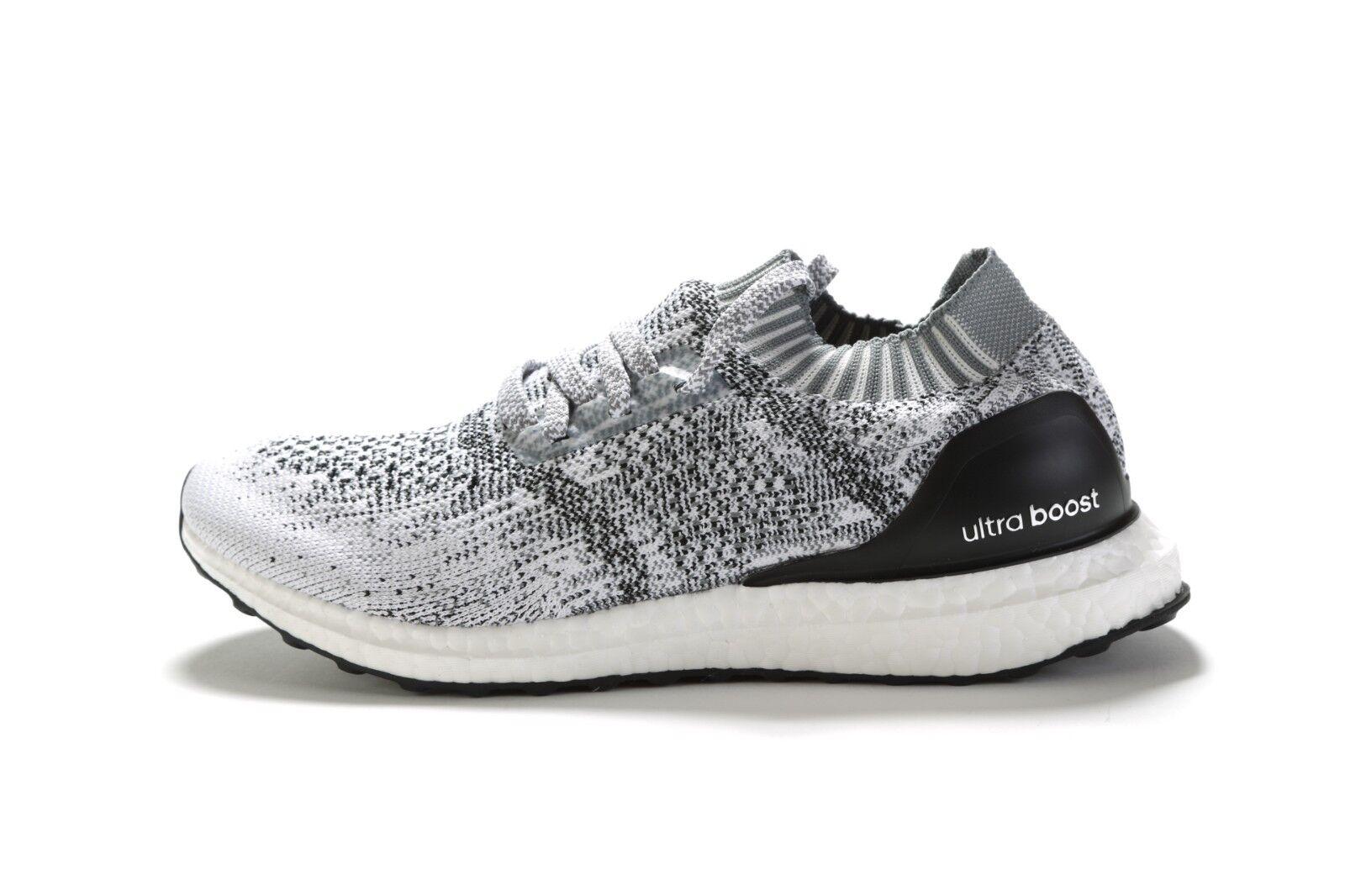 Mens adidas Ultraboost Uncaged Size 8.5 Oreo Cg4095 White Black ... 43262cc77