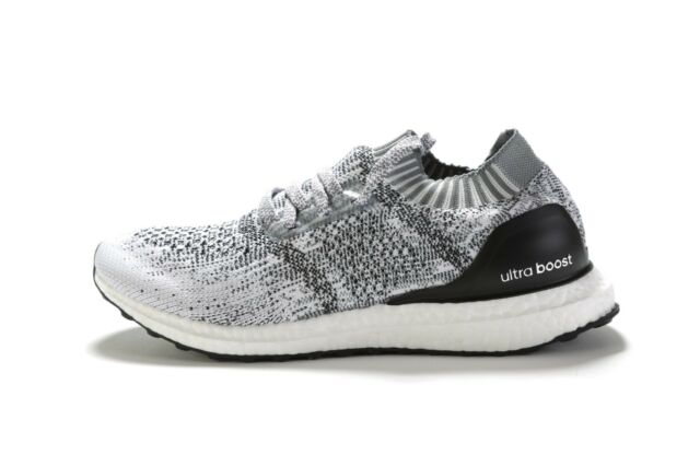 adidas Mens Ultraboost Uncaged Running Shoes Size 9 Cloud White Grey ... 13389ad43189a