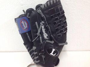 Louisville-Slugger-TPS-Black-Softball-Glove-FPRO1250-12-5-034-Left-Handed-Thrower