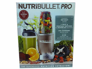 NutriBullet-Pro-900-Watts-Extractor-Blender-9-Piece-Set-BRAND-NEW-FREE-SHIPPING
