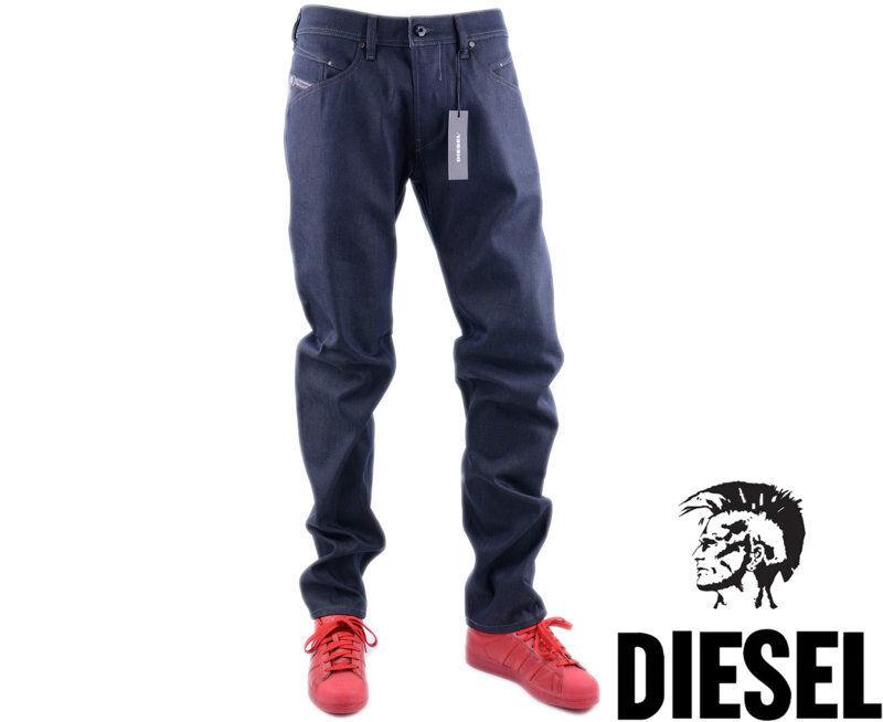 DIESEL BELTHER 0848V W34 L32 Mens Denim Jeans Regular Fit Straight