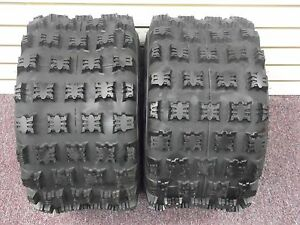 21X7-10 ARCTIC CAT DVX 400 AMBUSH SPORT ATV TIRES 2 FRONT TIRE SET