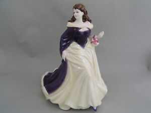 COALPORT-LADIES-OF-FASHION-MERRY-CHRISTMAS-2006-9-034-FIGURINE-BOXED