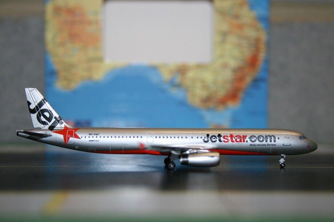 Aeroclassics 1:400 Jetstar Jetstar Jetstar Airbus A321-200 VH-VWT  ACVHVWT  Die-Cast Model Plane cb84dd