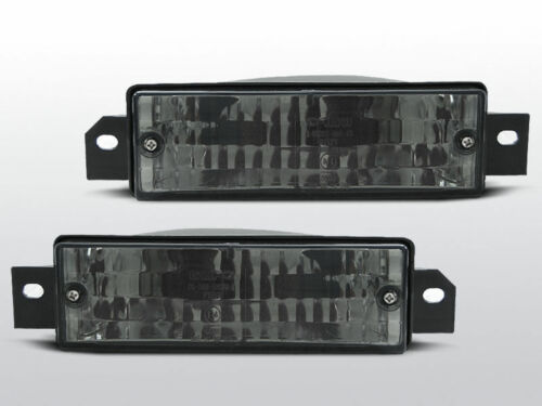 1987-1994 Front indicator DEPO Left/&Right smoked E30 Pair BMW 3