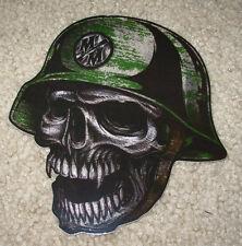 """METAL MULISHA Fang Skull Helmet Skate Bike Sticker 5.5"""" motocross decal"""