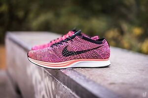 b18a89a7ed9d3 Image is loading Nike-Flyknit-Racer-039-Acai-Berry-039