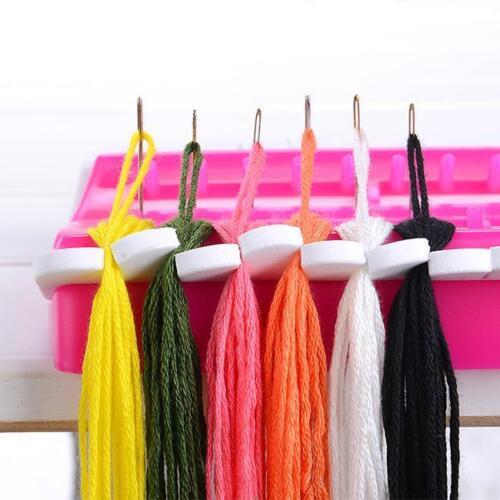 Floss Organiser Reusable Plastic Board Cross Stitch Row Line Craft Gadgets one