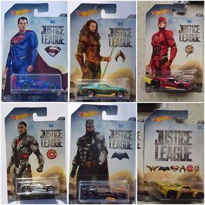 2017-HOT-WHEELS-DC-JUSTICE-LEAGUE-Diecast-Auto-Set-Assortimento-DWD02-1-64