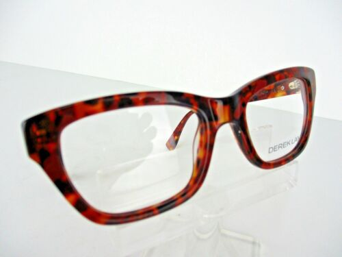 NEW Derek Lam Mod 261 REDAM Red Amber 50 x 19 140 mm Eyeglass Frames