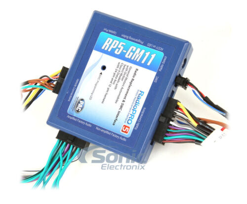 PAC RP5-GM11 Radio Replacement Wiring Interface for Select On-Star GM Vehicles