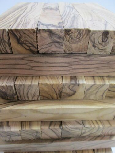 100 Bethlehem Holy Land ~Highly Figured ~ Olive Wood Pen Blanks olivewood