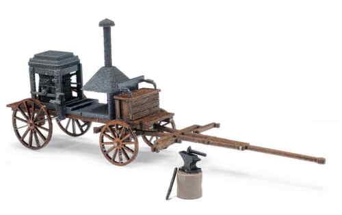 Busch h0 59913 remolque campo herreros 1857 m yunque nuevo//en el embalaje original
