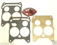Quadrajet Carburetor Flange Gasket Stainless Steel Heat Shield Baffle 2 Gaskets