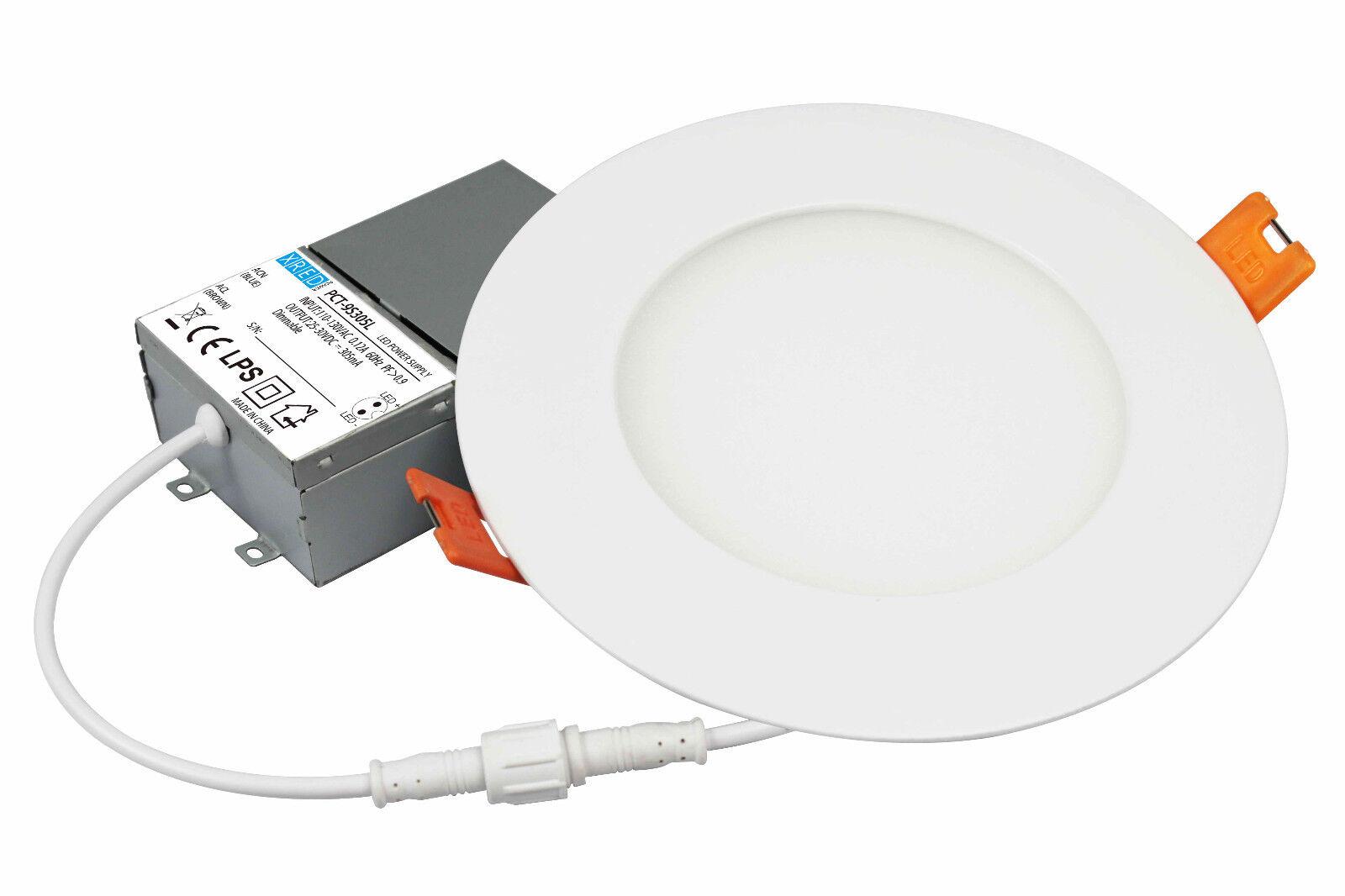Levanier ® 20x 6 pulgadas 6in 14W LED Slim hacia abajo del Panel de luz techo 3000K Regulable