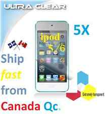 5X HD clear screen protector Apple ipod 5 6 film guard shield protection LCD .