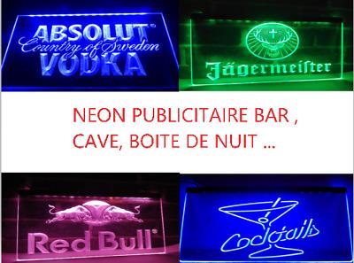 Neon Spot Publicitaire Lumineux Led Bar Boîte de Nuit Cave Déco Vintage