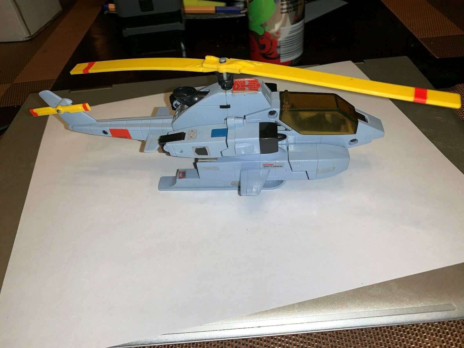 Whirl 1985 Vintage G1 Transformers BELL AH -1 Cobra Action Figure LQQK