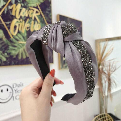 Crystal Knotted Crystal Knot Rhinestone Hairband Headpiece Headband Head Hood
