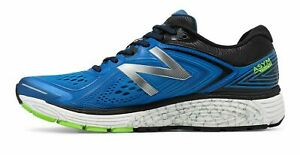 NEW-BALANCE-MEN-039-S-860V8-RUNNING-SHOES-SNEAKERS-BLUE-GREEN-amp-BLACK-SZ-10-2E